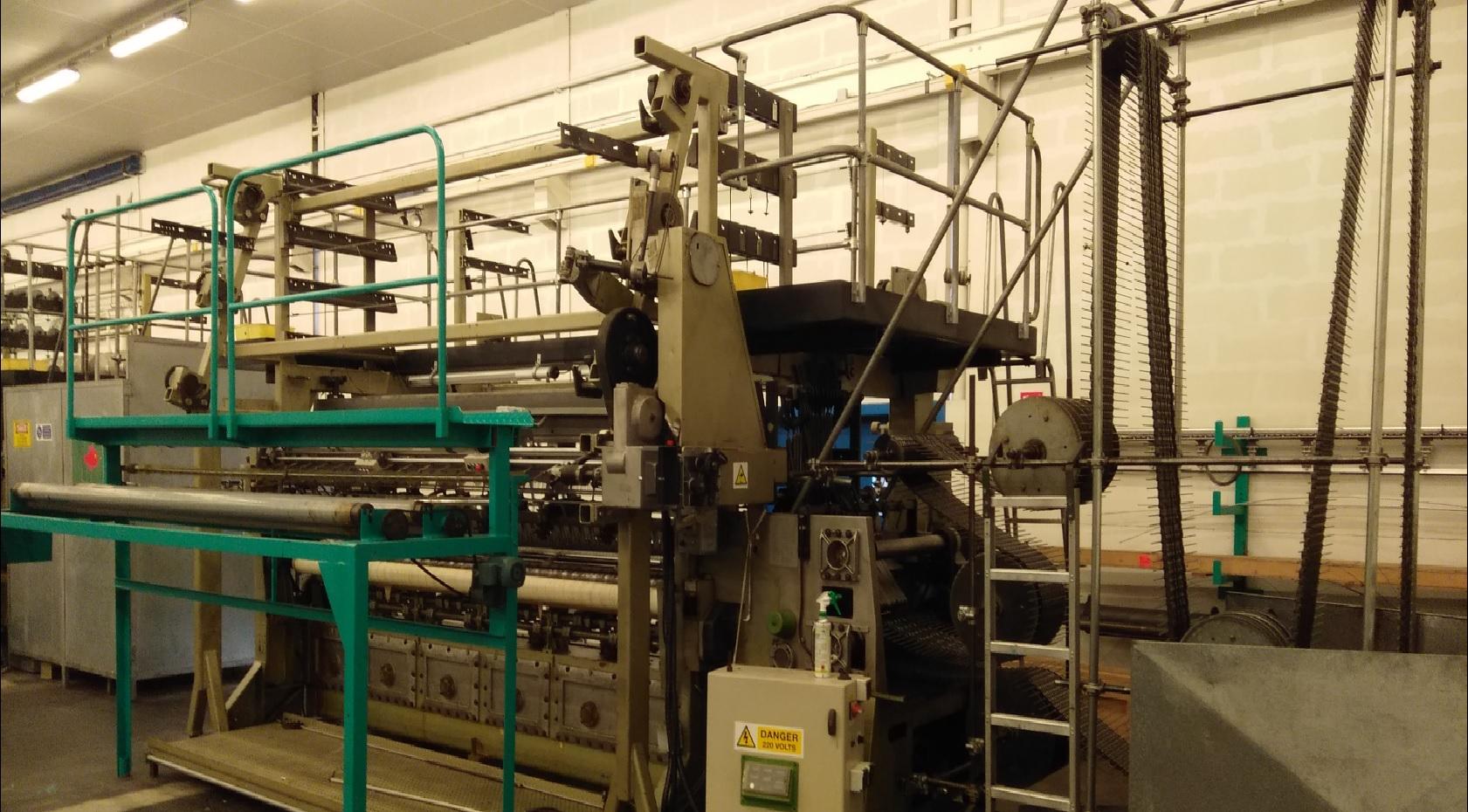 R20/4 Twistex Karl Mayer lace machine MRES24EH