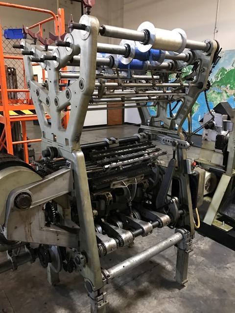 Twistex Karl Mayer RM6L(8)N multipurpose machine R33/5