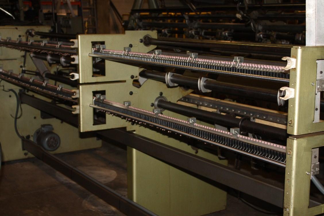 Twistex Karl Mayer warper HDSM2-130 W8_3