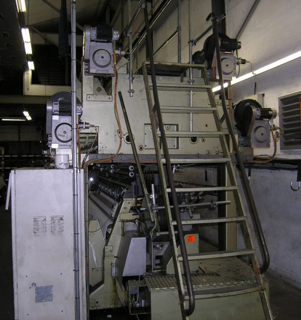 Twistex Karl Mayer RS4N-2K EBC multipurpose machine R27/2