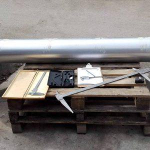 "B12/1 Twistex beams Alucolor. light duty 84"" x 30"" - 6"" bore"