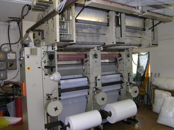 R53/1 Twistex Karl Mayer double needle bar machine RD8N ISO