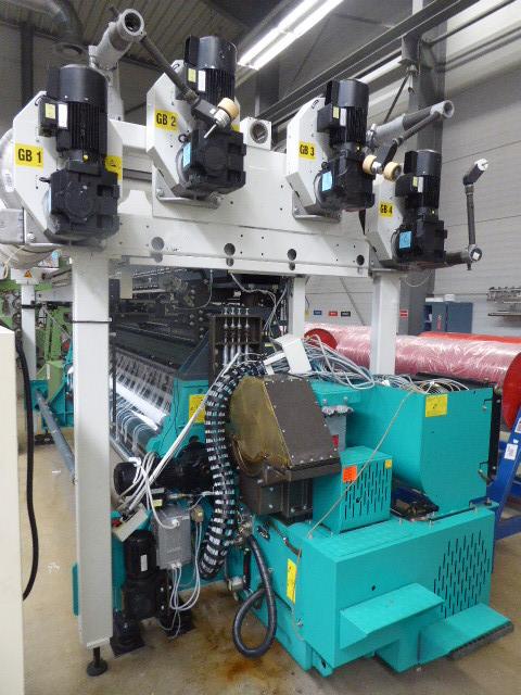 R6/1 Twistex Karl Mayer elastic raschel machine RSE4-1