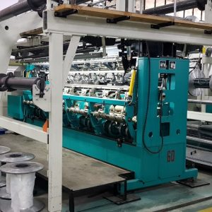 R48/1 Twistex Karl Mayer double needle bar machine HD6 20/35