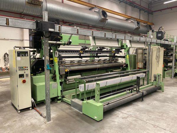 K8/1 Twistex Liba tricot machine COP3K