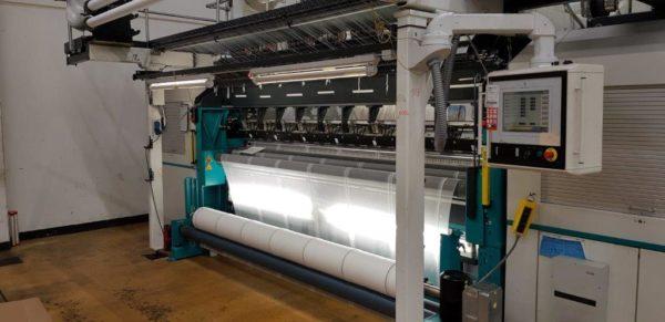 R16/1 Twistex Karl Mayer lace machine FL20/16