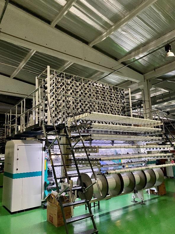 R15/1 Twistex Karl Mayer lace machine JL65/1-B